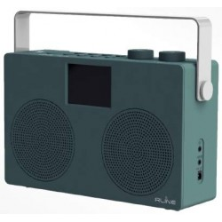 Soundab Two Radio Portatile Dab+/FM/Bluetooth Colore White